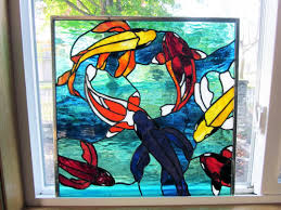 stained glass window panel ebsq artist
