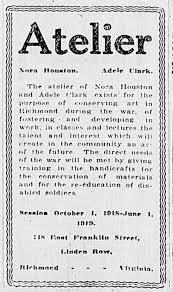 Nora Houston Adele Clark Atelier - Newspapers.com