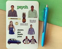 Psych Decal Etsy