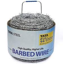 Tata Barbed Wire Barbed Wire For Fencing Approx Length 300 Meters Weight 25 Kgs Kanta Tar Amazon In Garden Outdoors