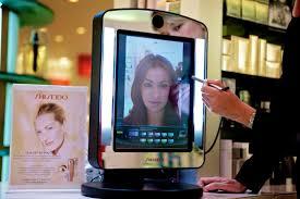 virtual makeup mirror kinect saubhaya