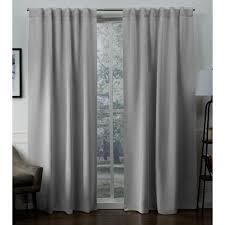 curtains sa silver woven blackout