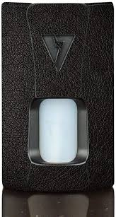 Amazon Com Wrap For Desire Design Tech Ohm Boy Rage Squonk Skin Skins Black Leather Vinyl Decal Sticker
