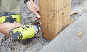 How To Install Posts For A Picket Fence Bunnings Warehouse
