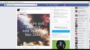 Facebook Home page layout - YouTube