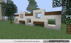 Minecraft Modern Fence Designs Google Search Idees Minecraft Maison Minecraft Creations Minecraft