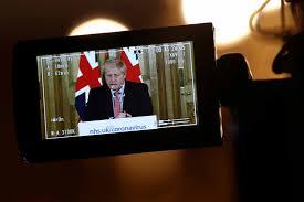Boris Johnson goes on offense to ...