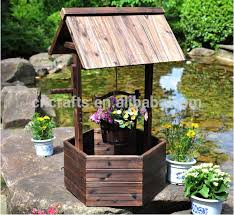 wishing well yard lawn garden decor
