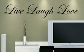 Live Laugh Love Vinyl Wall Decal Sold By Decaleverything On Storenvy