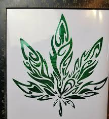 Telluride Colorado Co Cannabis Marijuana Vinyl Window Sticker Decal For Sale Online Ebay