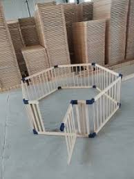 China Baby Play Yard Safety Wooden Fence Wood Kids Large Baby Playpen China Wooden Playpen Pine Wood Playpen