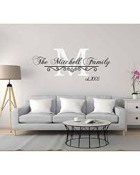 Phenomenal Deals On Monogram Family Wall Decal Family Name Wall Decor Personalized Wall Decals Last Name Established Wall Decal Personalized Monogram Wall Decal Monogram Decal Cik2442