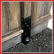 35 Reference Of Fence Post Repair Bracket Home Depot In 2020 Fence Post Repair Wood Post Fence Post