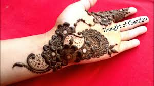 mehndi design arabic new model