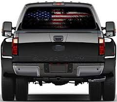 Amazon Com Practlsol Car Decals 1 Pcs American Flag Sticker Rear Window Decal Truck Stickers Car Decal Vinyl For Car Truck Suv Jeep Universal Scratch Hidden Car Stickers 57 87 Inch X 18 11 Inch Automotive