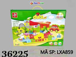 Đồ chơi xếp hình lắp ráp đường ray cho trẻ em - Mã SP: LXA859 - Đồ Chơi Trẻ  Em - ToysVN.Com