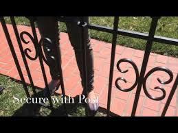 Panacea Sectional Fence Installation Youtube