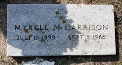 Myrtle Marie Harrison (Harvey) (1899 - 1956) - Genealogy