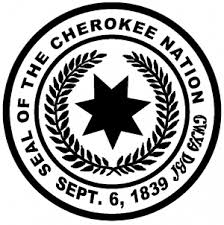 Seal Of The Cherokee Nation Decal Car Or Truck Window Decal Sticker Or Wall Art Decalsrock