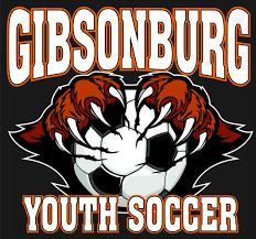 Gibsonburg Youth Soccer Car Decal R R Identification