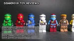 Lego Ninjago 2016 DeCool Bootleg 10043 - 10046 Review Jay Kai Zane ...