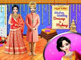 royal indian western wedding dressup