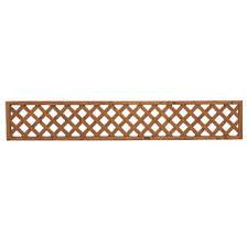Forest Fence Topper Softwood Rectangular Trellis 6 X 1 3 Pack Trellis Screwfix Com