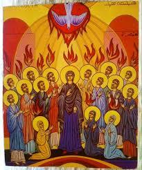 Restaurarte - Ícone decorativo - Pentecostes: a descida do ...