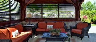patio privacy screens shutters