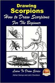 Drawing Scorpions - How to Draw Scorpions For the Beginner: Sanqui, Adrian,  Davidson, John, Mendon Cottage Books: 9781508632191: Amazon.com: Books