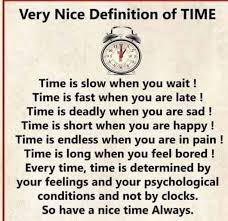very nice definition of time awesome definition how are you