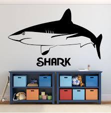 Shark Wall Decal Vinyl Vinyl Decor Wall Decal Customvinyldecor Com