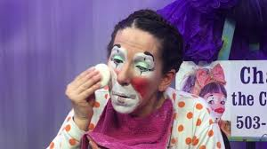 clown makeup demo cha cha the clown