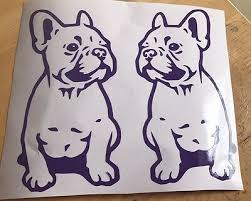 X2 Frenchie French Bulldog Print Vinyl Decal Car Sticker Animal Dog Pet Window Archives Midweek Com