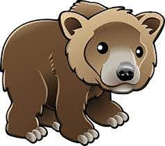 Amazon Com Cute Baby Bear Cub Cartoon Emoji Brown Bear Vinyl Sticker 12 Wide Automotive