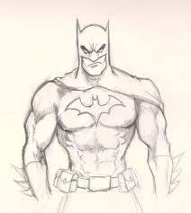 dc batman sketch hd wallpaper