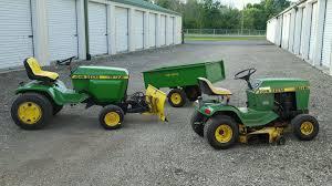 john deere garden tractor lot jd