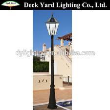 led solar garden lighting garden pole