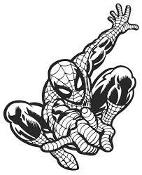 Spiderman Superhero Wall Decal Wall Sticker Usa