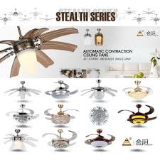 china 48 52 ceiling fan with led light