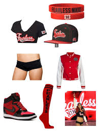 nikki bella fearless wwe outfits