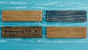 Artfully Aged Wood Finishes