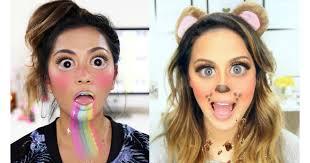 snapchat filter makeup tutorials