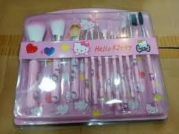 o kitty makeup brush set