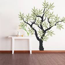 Olive Tree Wall Sticker Olive Tree Branch Wall Decal Vinyl Tree Wall Decal Tree Wall Decal Tree Wall
