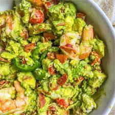 Keto Avocado Shrimp Salad with Bacon ...