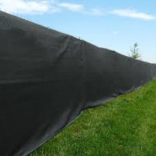 Amazon Com Xtarps 8 Ft X 8 Ft Black Color Premium Privacy Fence Screen 90 Blockage Great For Back Yard Fence Construction Site Tennis Court Kennel Garden Outdoor