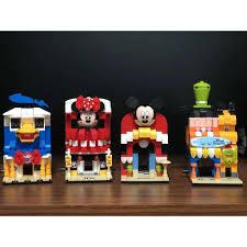 CÓ SẴN) lắp ráp lego Disney SY 6800 bốn của hàng của chó pluto ...