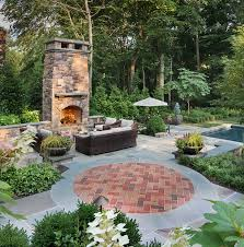 fire pit or fireplace in my backyard