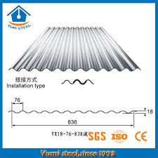 corrugated metal roofing sheets for